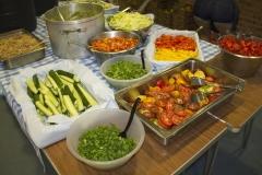 Salad buffett fruitfest 2016